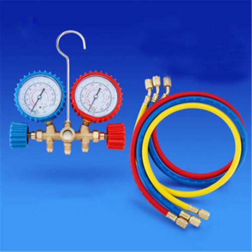 Hot Sale Refrigeration Kit A//C Manifold Gauge Set Air R12 R22 R134a