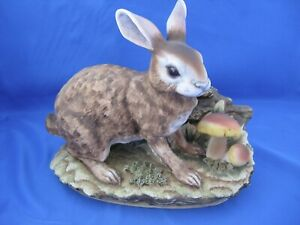 Vintage-Lefton-China-034-Wild-Hare-Figurine-KW-4493
