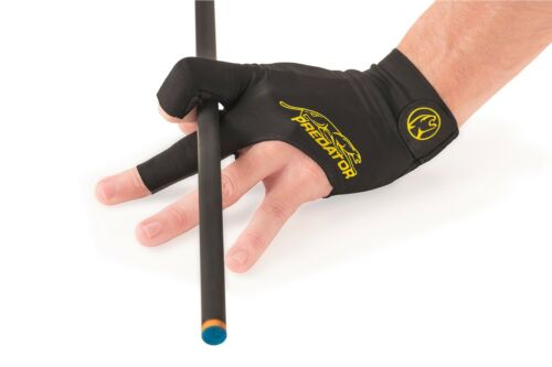 schwarz-gelb,S/&M Handschuh Predator Second Skin 3-Finger