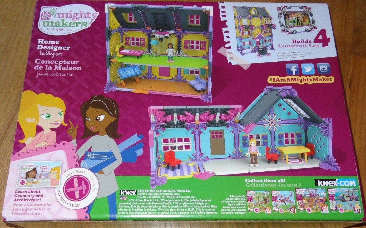 Mighty Makers Home Designer K'NEX Building Building Building Set Construction Toy KNEX 43535 49e49b