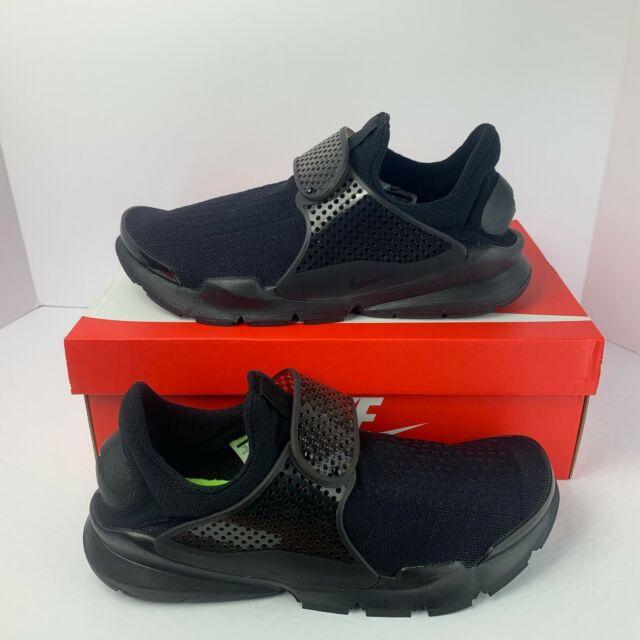 Nike Men's New Air Sock Dart Triple Black Running 819686 001