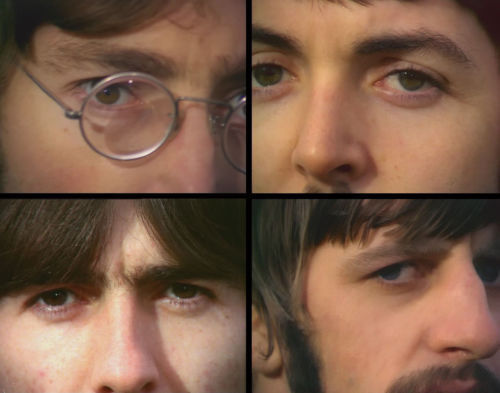 """The Beatles Nothing Is Real Print 14 x 11/"""""""