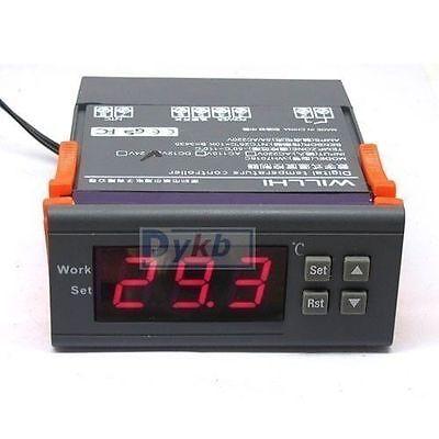 220v led Digital Thermostat Temperaturregler Temperatur Regler -50℃ ~ 110℃ Probe