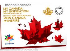 2017 Canada Uncirculated Set - Proof Like Set - My Inspiration - E403