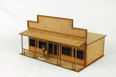 Old West Cowboy Building STORE  D026 25mm, 28mm Terrain