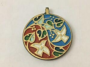 Vintage-Ecology-Designs-Peace-Pendant-Necklace-White-Doves-Celebrate-Life