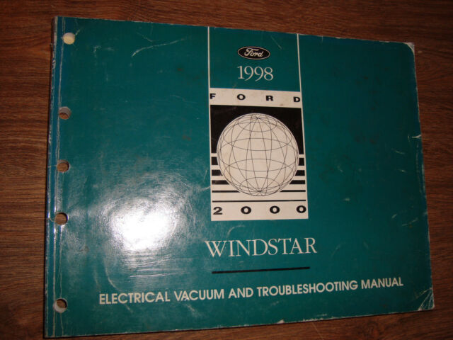 1998 Ford Windstar Wiring Diagrams Manual Mwi