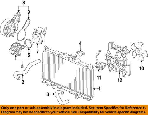 HONDA OEM 12-14 CR-V-Engine Water Pump 19200R5AA01