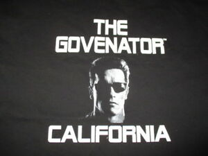 ARNOLD-SCHWARZENEGGER-034-THE-GOVENATOR-CALIFORNIA-034-XL-T-Shirt