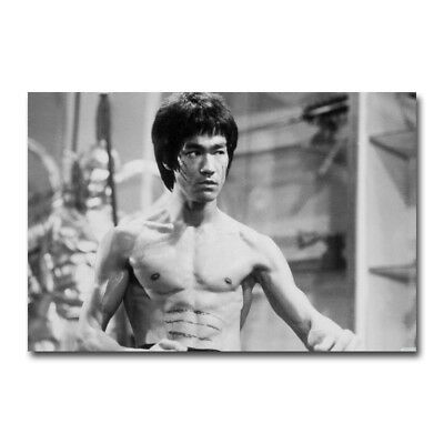 Enter The Dragon Bruce Lee Movie Silk Poster 12x18 24x36 inch