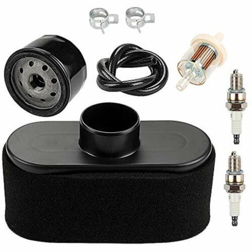 Air Filter Pre Oil Fuel Line Spark Plug For Kawasaki FR651V FR691V FR730V FS481V