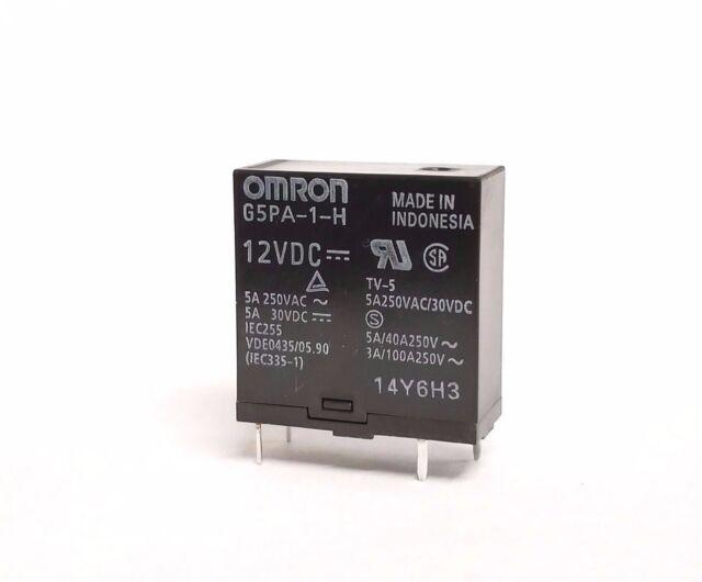 28x5x15 mm THT Slim PCB 848Ohm Schrack Relay 12VDC 6A 250v SPDT