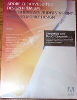 Sealed Adobe Creative Suite 3 Design Premium Mac Cs3 Mpn: 19500007