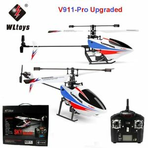voortreffelijk ontwerp beste service laagste korting Details about WLTOYS V911 Pro Upgraded 2.4GHz Single Blade RC Mini  Helicopter Gyro Outdoor, ir