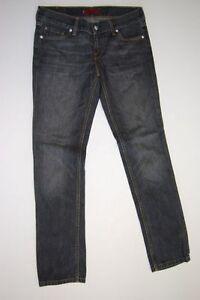 gamba grosse con stretta con quadrato pietre 558 Levis Grau Jeans tubo taglio lavato W30 L32 7qgRwC