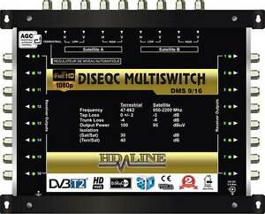 HD-LINE-MULTISWITCH-10-16-3-SATELLITEN-1-TERRESTRISCHE-MULTISCHALTER-16-RECEIVER