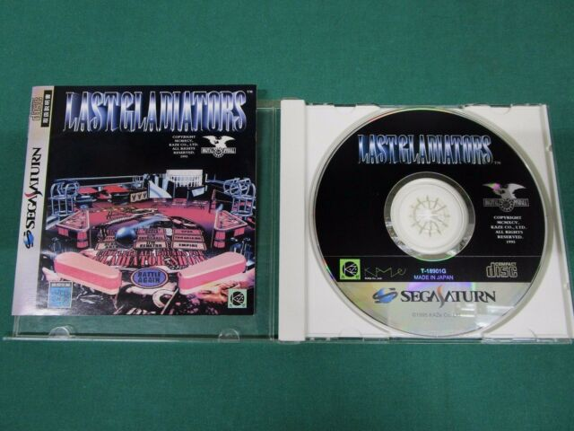 Sega Saturn -- Digital Pinball Last Gladiators -- *JAPAN GAME!!* 15210