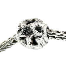 1 Authentic Trollbeads Sterling Silver 11401 Waves