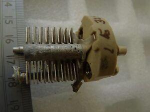Air 1pf-32pf Air Espacés Tuning Condensateur Céramique Plaque D'extrémité Utilisé 1pc-afficher Le Titre D'origine