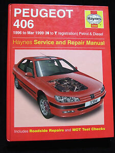 peugeot 406 petrol diesel haynes service repair manual 1996 1999 rh ebay co uk 406 Coupe Inside Peugeot Coupe