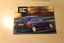 02173) BMW 318tds E36 compact Prospekt 01/1995
