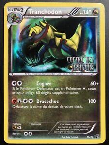 Carte-Pokemon-TRANCHODON-16-20-Holo-Promo-Coffre-des-Dragons-FR-NEUF