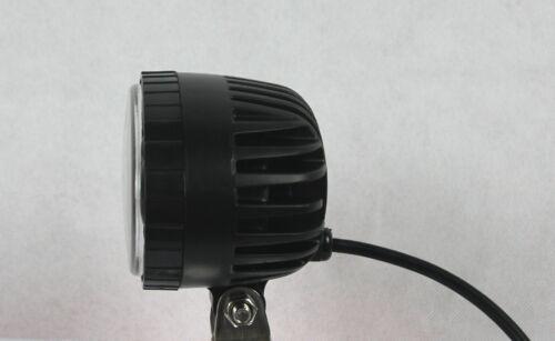 12,24,48v Red Forklift LED light Warehouse Safety Warning Lamp Spot offroad race