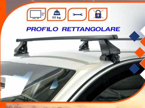 Barre Portatutto Portapacchi VW CADDY PANEL 2K 2010/>2019 K39 RETTANGOLARI
