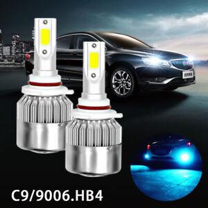 H8 H9 H11 LED Headlight Kit Conersion Fog Light 12000K Blue Headlmp Bulbs 8000LM