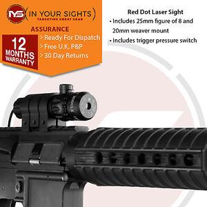 Air-rifle-airsoft-gun-red-dot-laser-sight-scope-trigger-commutateur-mounts