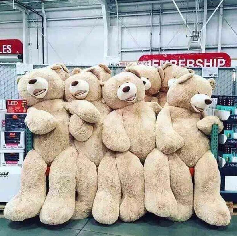 Brand Giant Large Big Teddy Bear Plush Soft Toy Doll UK Bears Kids Gift 60-340CM