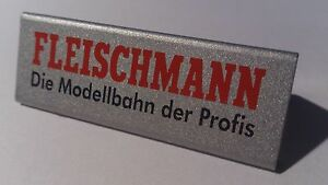 Fleischmann Die Modellbahn der Profis - Double sided shelf Badge / Label (PL) - Wroclaw, Polska - Fleischmann Die Modellbahn der Profis - Double sided shelf Badge / Label (PL) - Wroclaw, Polska