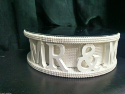 Diamante wedding cake stand