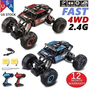 2PCS-4WD-RC-Monster-Truck-Off-Road-Vehicle-2-4G-Buggy-Crawler-Car-KIDS-GIFT-PSCC