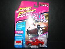 1988 CHEVROLET CORVETTE RED LTD 4036PCS 1//64 JOHNNY LIGHTNING JLMC014// JLSP026 A
