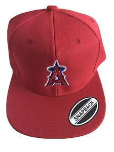 angels hat snapback red/red New