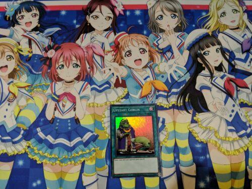 YUGIOH SESL-EN043 UPSTART GOBLIN SUPER RARE 1st EDITION