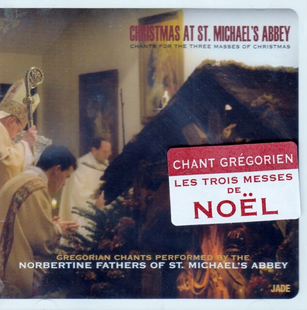 CHRISTMAS AT ST. MICHAEL`S ABBEY - CHANTS FOR THE THREE MASSES OF CHRISTMAS / CD