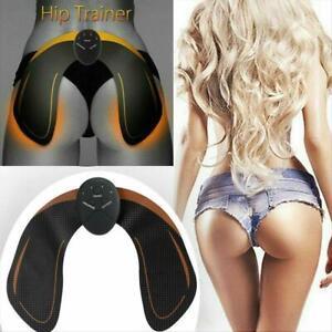 Hip Muscle Trainer Buttock Lift Bum Push Up Butt Stimulator Enhance Toner Pad ^