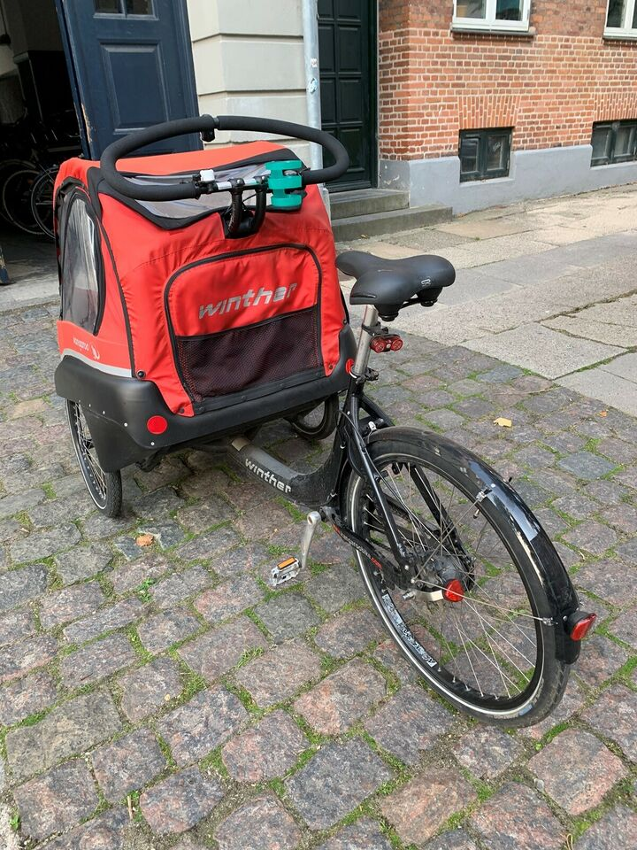 Ladcykel, Winther Kangaroo Luxe, 8 gear