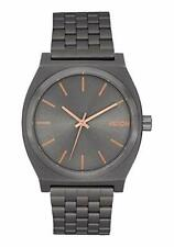 Nixon A045-2785 Time Teller Men's Watch Gunmetal 37mm Stainless Steel Watch