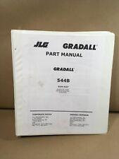 Jlg Gradall 544b Part Manual Froward Reach Forklift Sn 0155299 182 Pages
