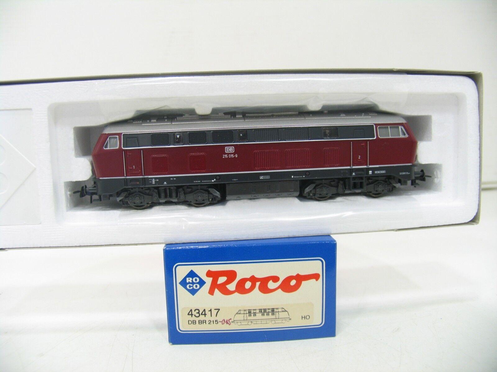 Roco 43417 diesellok br 215 015-9 rosso de la DB wm164