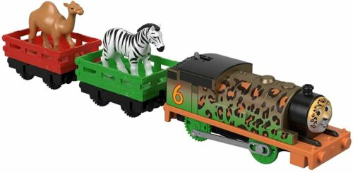 Thomas /& Friends Trackmaster Motorised Animal Fête Percy Engine Train