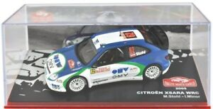 Voiture-Miniature-1-43-Rallye-Monte-Carlo-2005-CITROEN-Xsara-WRC-Stohl-amp-Minor-ALTAYA