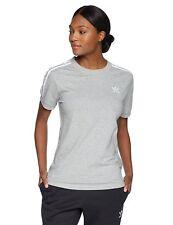 c662270d8f0 adidas Originals Womens 3 Stripes Tee Medium Grey Heather M for sale ...