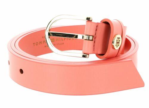 TOMMY HILFIGER Classic Belt 2.5 W90 Gürtel Accessoire X Orange Neu