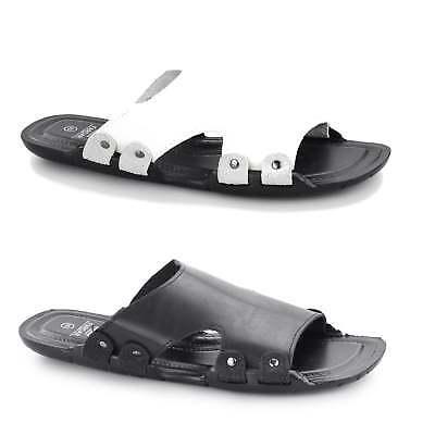 df42eca91b Shumo APOLLO Mens Slip On Beach Summer Casual Sliders Flip Flops Mule  Sandals