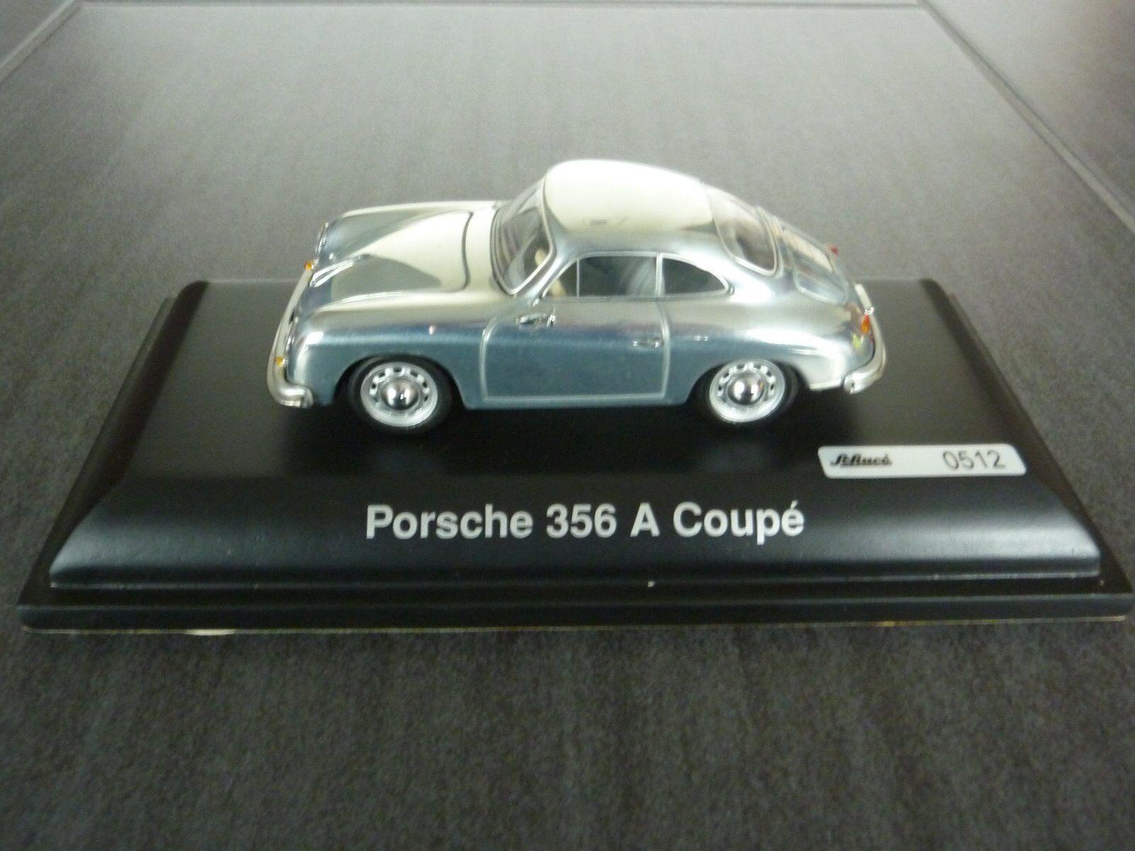 Porsche 356 A Coupe, chrom ,Limitiertes Model