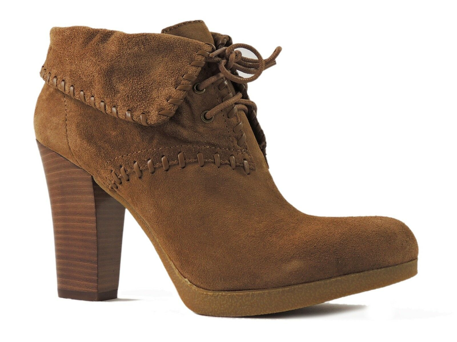 Enzo Angiolini Women's Andre Ankle Boots Natural Suede Size 10 M